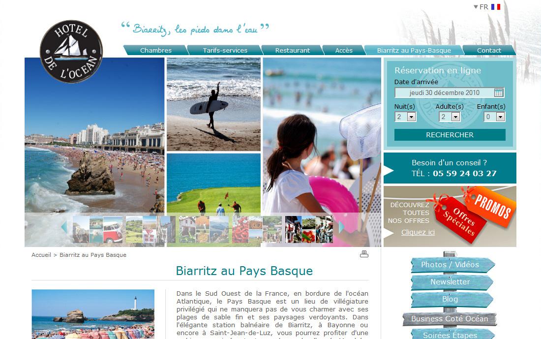 V ronique huyvaert consultant webmarketing et for Site hotel en ligne
